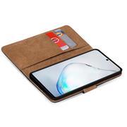 Basic Bookcase Hülle für Samsung Galaxy Note 10 Plus klappbare Schutzhülle