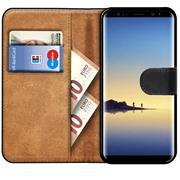Basic Bookcase Hülle für Samsung Galaxy Note 9 Klapphülle Tasche mit Kartenfächern