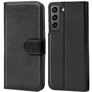 Basic Handyhülle für Samsung Galaxy S21 Plus Hülle Book Case klappbare Schutzhülle