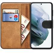 Basic Handyhülle für Samsung Galaxy S21 Hülle Book Case klappbare Schutzhülle