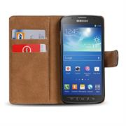 Basic Bookcase Hülle für Samsung Galaxy S4 Active Schutzhülle klappbar