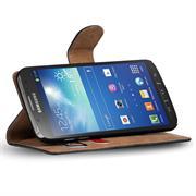 Basic Bookcase Hülle für Samsung Galaxy S4 Active Klapphülle Tasche mit Kartenfächer