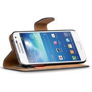 Basic Bookcase Hülle für Samsung Galaxy S4 Mini aufstellbares Etui