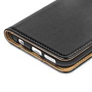 Basic Bookcase Hülle für Samsung Galaxy S6 Edge Etui mit Kartenfächern