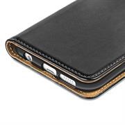 Basic Bookcase Hülle für Samsung Galaxy S7 Klapphülle Tasche mit Kartenfächer