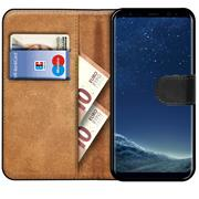 Basic Bookcase Hülle für Samsung Galaxy S8 Plus Case klappbare Schutzhülle