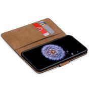 Basic Bookcase Hülle für Samsung Galaxy S9 Klappcase mit Kartenfächern