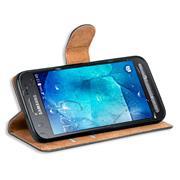 Basic Bookcase Hülle für Samsung Galaxy Xcover 3 klappbares Etui
