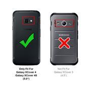 Basic Bookcase Hülle für Samsung Galaxy XCover 4 4S Case klappbare Schutzhülle