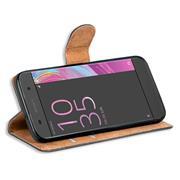 Basic Bookcase Hülle für Sony Xperia X Compact klappbare Schutzhülle
