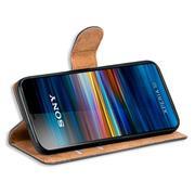 Basic Bookcase Hülle für Sony Xperia 10 klappbare Schutzhülle