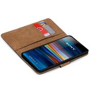 Basic Bookcase Hülle für Sony Xperia 10 Case klappbare Schutzhülle
