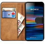 Basic Bookcase Hülle für Sony Xperia 1 Case klappbare Schutzhülle