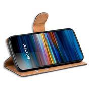 Basic Bookcase Hülle für Sony Xperia 5 klappbare Schutzhülle