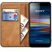 Basic Bookcase Hülle für Sony Xperia L3 klappbare Schutzhülle