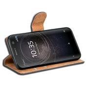Basic Bookcase Hülle für Sony Xperia XA2 Klapphülle Tasche mit Kartenfächern