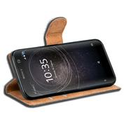 Basic Bookcase Hülle für Sony Xperia XA2 Case klappbare Schutzhülle