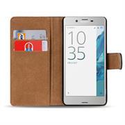 Basic Bookcase Hülle für Sony Xperia XZs Klapphülle Tasche mit Kartenfächern