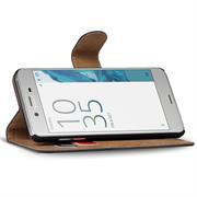 Basic Bookcase Hülle für Sony Xperia XZs Schutzhülle mit Kartenfächern