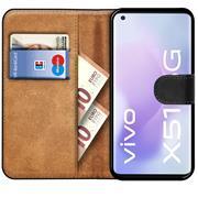 Basic Handyhülle für Vivo X51 5G Hülle Book Case klappbare Schutzhülle