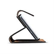 Basic Bookcase Hülle für Wiko Harry klappbare Tasche mit Kartenfächern