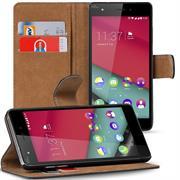 Basic Bookcase Hülle für Wiko Pulp 4G Klapphülle Tasche mit Kartenfächer