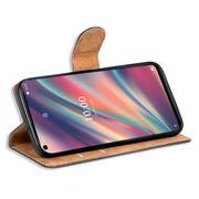 Basic Handyhülle für Wiko View 5 / View 5 Plus Hülle Book Case klappbare Schutzhülle