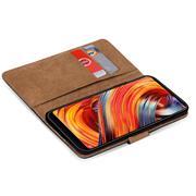 Basic Bookcase Hülle für Xiaomi Mi Mix 2 Schutzhülle mit Kartenfächern