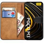 Basic Handyhülle für Xiaomi Poco M3 Hülle Book Case klappbare Schutzhülle