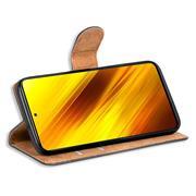 Basic Handyhülle für Xiaomi Poco X3 Pro Hülle Book Case klappbare Schutzhülle