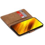 Basic Handyhülle für Xiaomi Poco X3 Hülle Book Case klappbare Schutzhülle