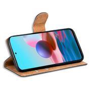 Basic Handyhülle für Xiaomi Redmi Note 10 5G Hülle Book Case klappbare Schutzhülle
