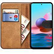 Basic Handyhülle für Xiaomi Redmi Note 10 Pro Hülle Book Case klappbare Schutzhülle