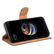 Basic Bookcase Hülle für Xiaomi Redmi Note 5 Schutzhülle mit Kartenfächern