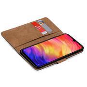 Basic Bookcase Hülle für Xiaomi Redmi Note 7 klappbare Schutzhülle