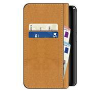 Basic Bookcase Hülle für ZTE Axon 7 klappbare Tasche mit Kartenfächern