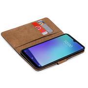 Basic Handyhülle für ZTE Blade 10 Smart Hülle Book Case klappbare Schutzhülle