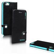 Book Wallet für Apple iPhone 4 / 4S Schutzcase mit Kartenfach