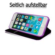 Book Case für Apple iPhone 5 5s SE Hülle Innenschale aus Silikon Tasche
