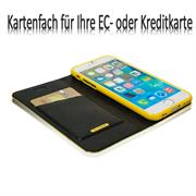 Book Wallet für Apple iPhone 6 Plus / 6S Plus aufstellbares Case