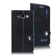 Book Wallet für Samsung Galaxy A3 2015 aufstellbares Schutz Case