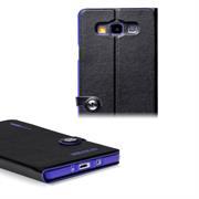Book Case für Samsung Galaxy A7 A700 Hülle Innenschale aus Silikon Tasche