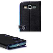 Book Case für Samsung Galaxy S3 Neo Hülle Innenschale aus Silikon Tasche
