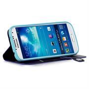 Book Wallet für Samsung Galaxy S4 aufstellbares Schutz Case