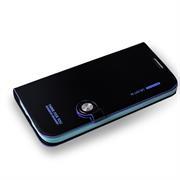 Book Case für Samsung Galaxy S4 Hülle Innenschale aus Silikon Tasche