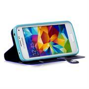 Book Wallet für Samsung Galaxy S5 / S5 Neo aufstellbares Schutz Case