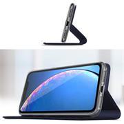 Magnet Case für Apple iPhone 11 Pro Max Hülle Schutzhülle Handy Cover Slim Klapphülle