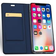 Magnet Case für Apple iPhone XS Max Hülle Schutzhülle Handy Cover Slim Klapphülle