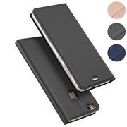 Magnet Case für Huawei P9 Lite Hülle Schutzhülle Handy Cover Slim Klapphülle