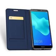 Slim Wallet Case für Huawei Y5 2018 Magnet Hülle mit Standfunktion